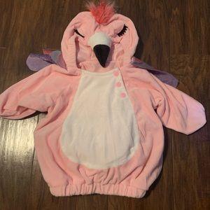 Child's Halloween flamingo costume